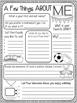 9-Question Interest Inventory: A Great Way to Learn About Your Students